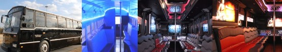 Party Bus Rentals for Hire Seaside Heights NJ New Jersey LOGO